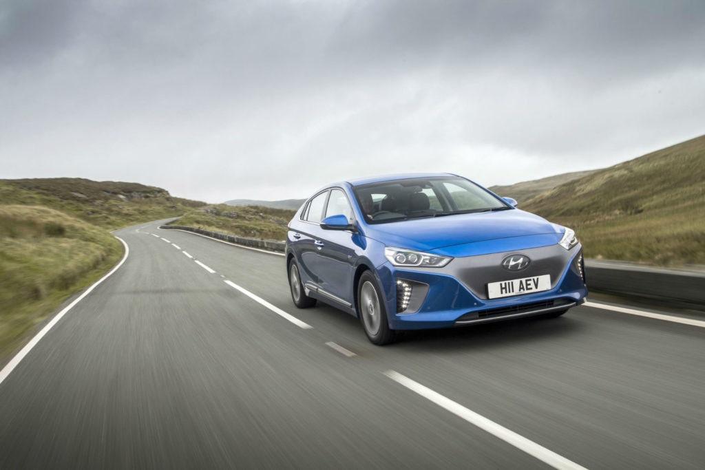 Le Hyundai Ioniq se décline en trois variantes.