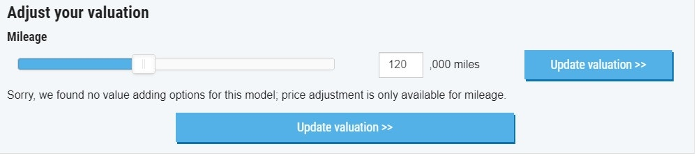 adjust your valuation