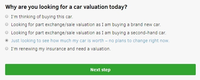 What Car? Valuation choice