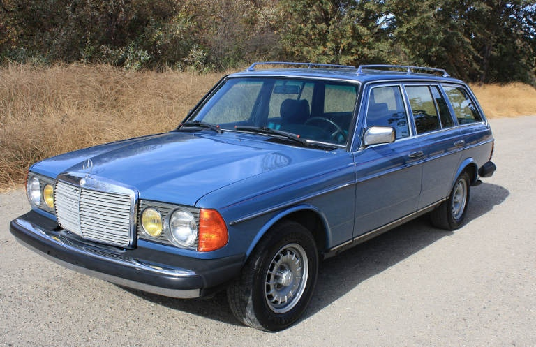 If you own an older or classic diesel car, like this Mercedes 300TD, is it better to sell now? Or hold on to it?