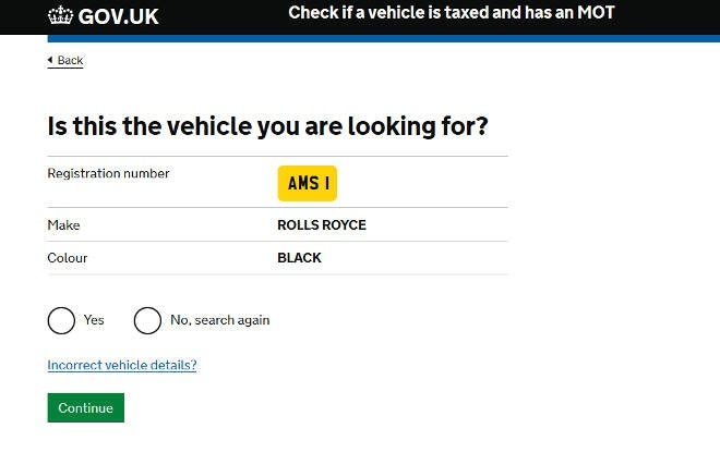 DVLA and Selling Your Car - DVLA Vehicle Details Check