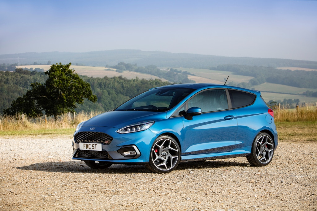 Fast small cars are a firm favourite in the UK, the Fiesta ST is one of the best.