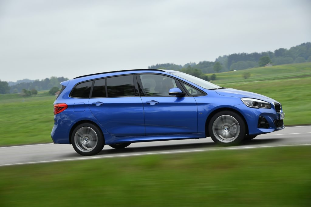BMW's first ever front wheel drive car, it's odd but it can seat 7 in comfort.