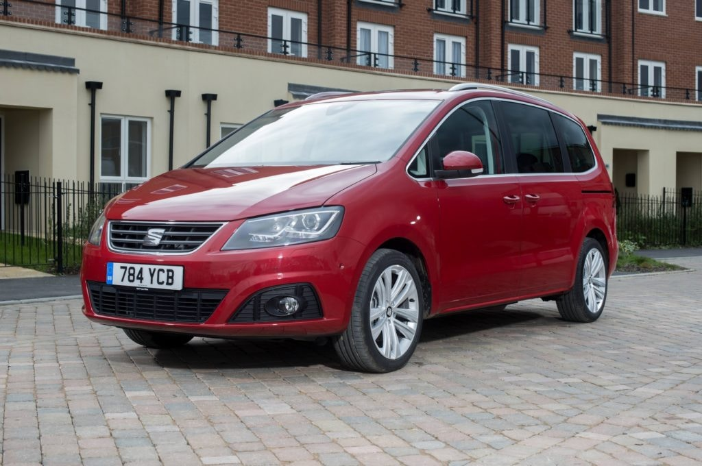 Ageing now the SEAT Alhambra is another MPV that makes the perfect 7 seater.