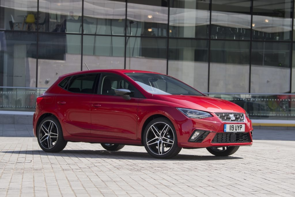 Practical and stylish the SEAT Ibiza is one of the small cars with a ton of value for money.