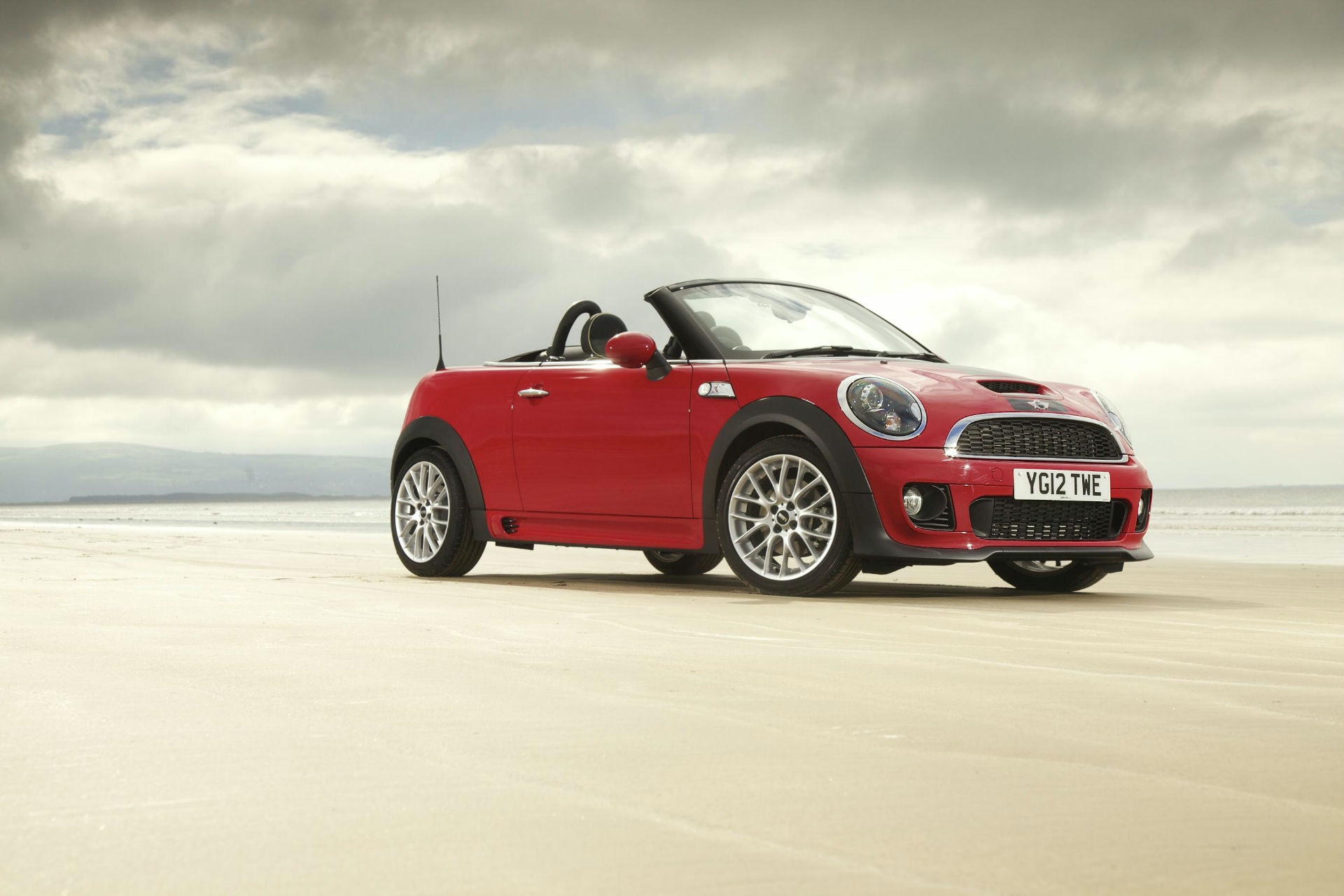 A quick convertible for less than £10k, the Mini Roadster is ideal.