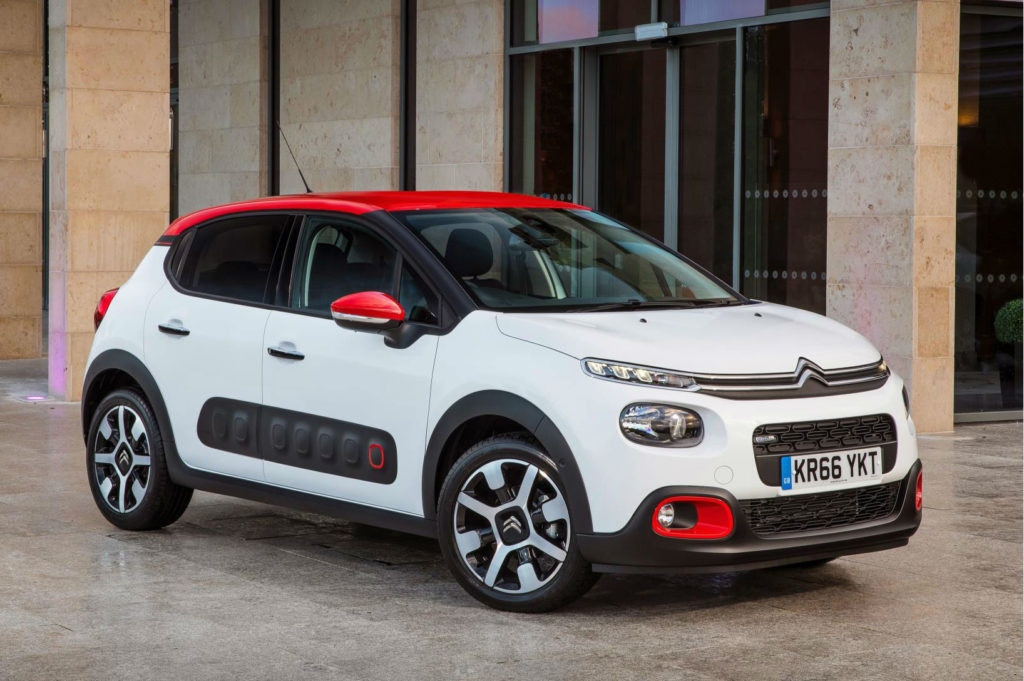 Citroen's C3 is incredibly affordable to lease