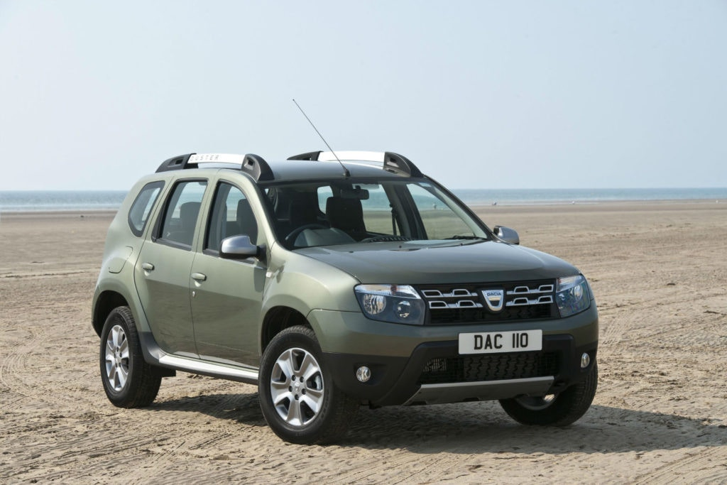 Need a cheap crossover for less than £5,000, the Dacia Duster is the car of choice.