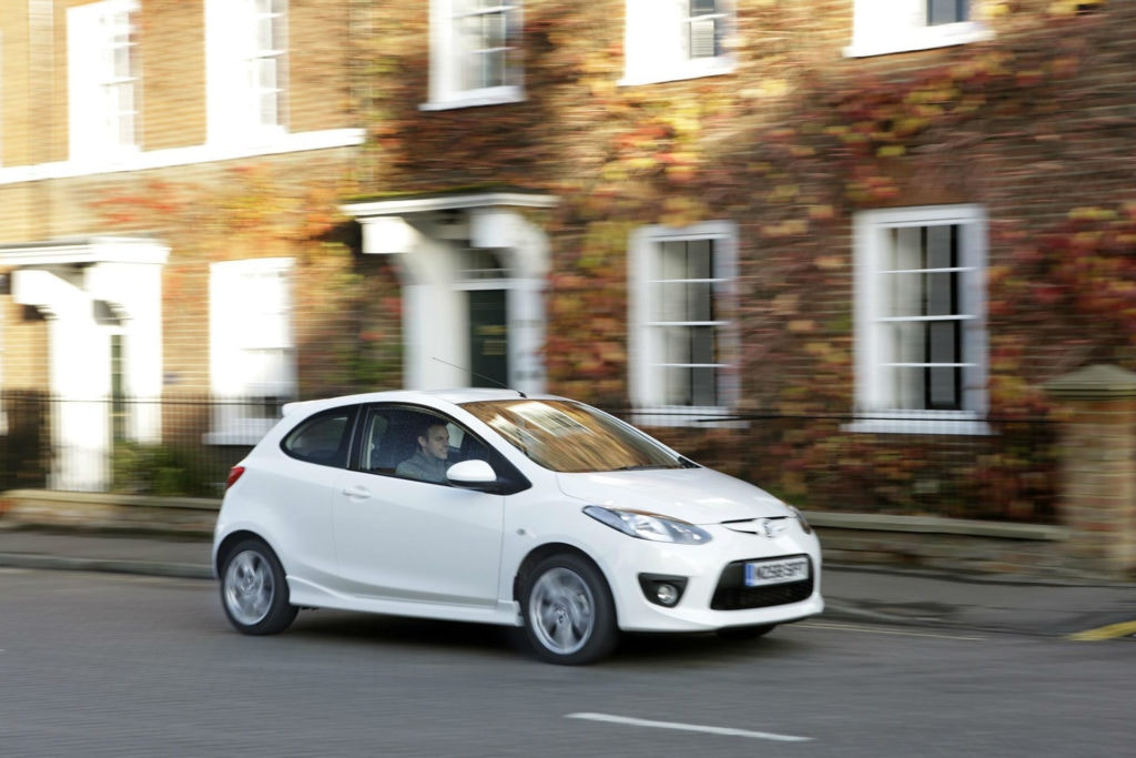 Mazda 2 Sport, a super handling little hatch under our £5,000 budget.