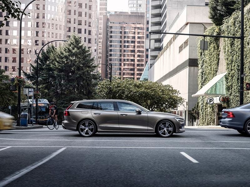 Volvo's V60 is a sleek looking estate.