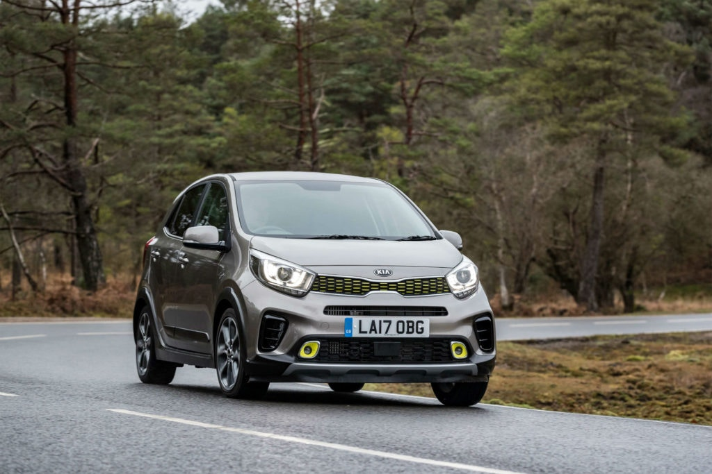 Kia Picanto small automatic car