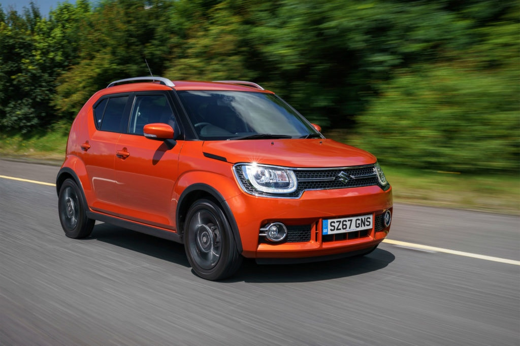The little Suzuki Ignis is a mud plugger like you wouldn't believe.