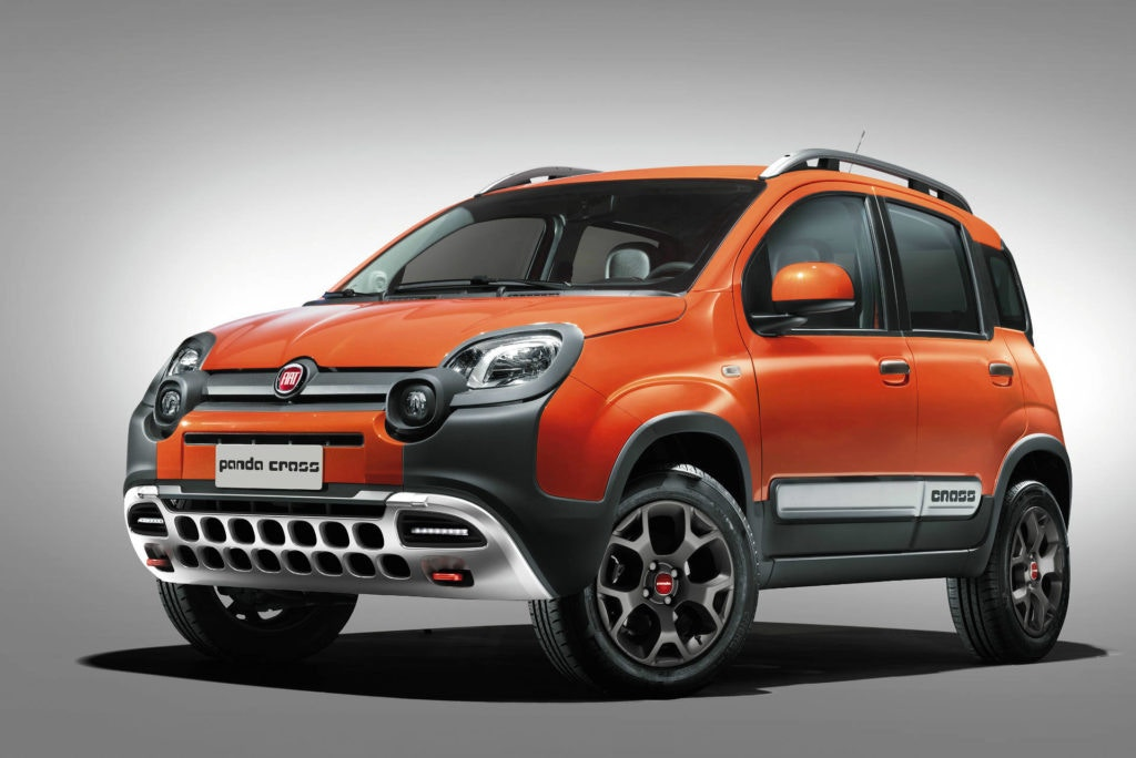 Fiat's Panda Cross can cope with mountains, it's got the looks to match too.