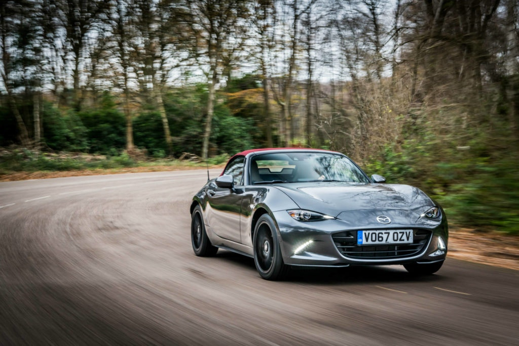 It's not too expensive to lease the MX-5