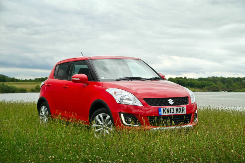 Need a 4x4 on a budget, Suzuki have you covered with the Swift Sport.