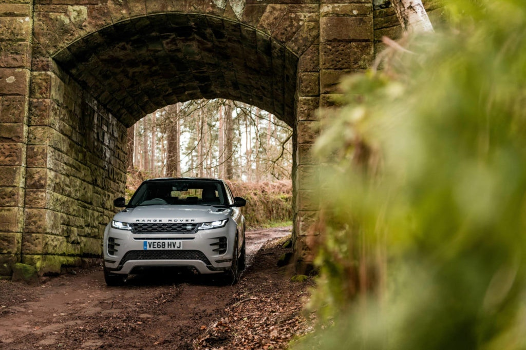 Not on the market yet the Range Rover Evoque PHEV will be a big seller in London.