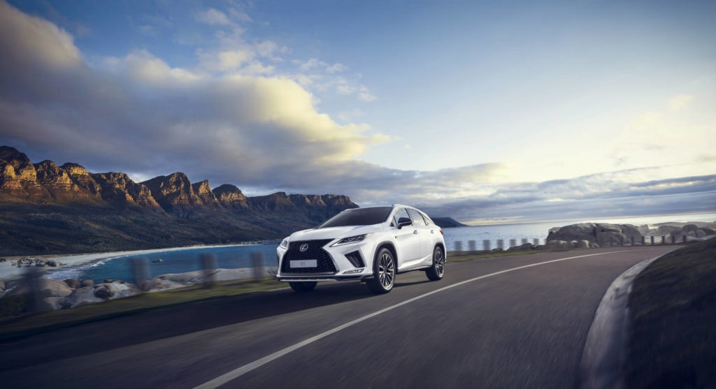 A huge seven seat SUV with green credentials, the Lexus RX450h is hard to beat.
