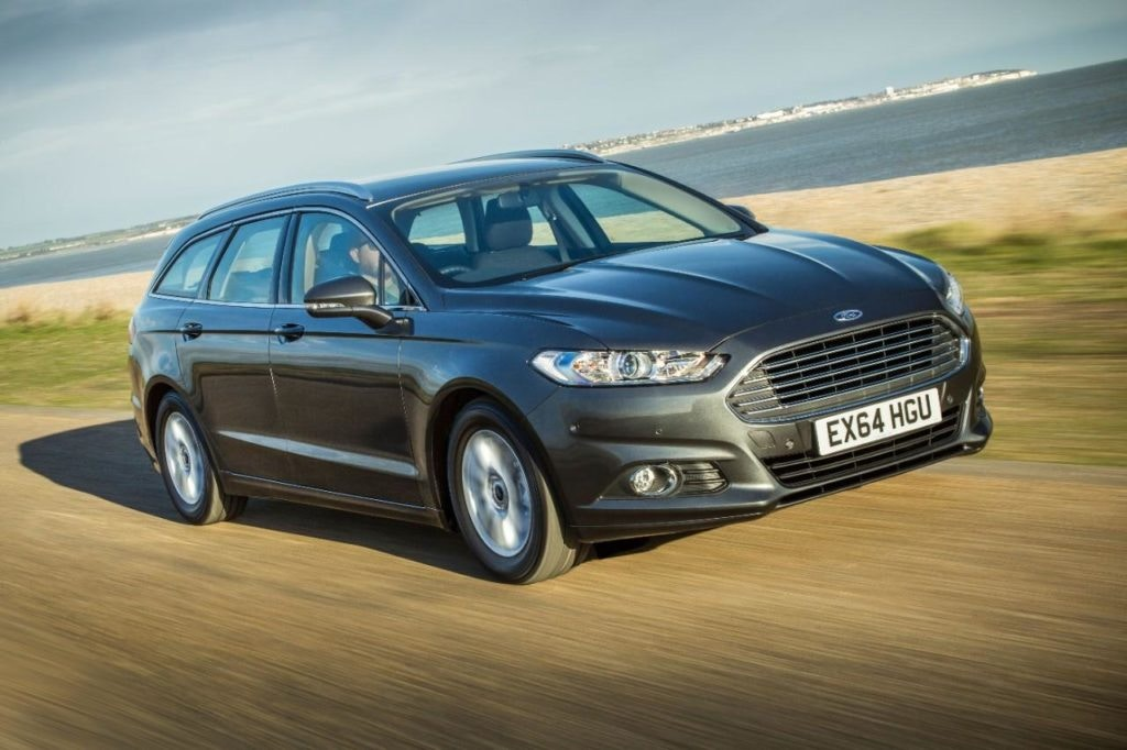 Ford Mondeo Estate, makes a great crossover alternative tow car.
