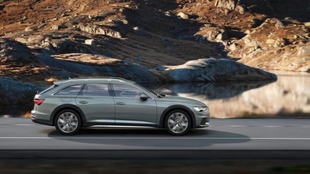 Audi A6 Allroad - Une voiture pratique et confortable, avec une grande capacité de remorquage.