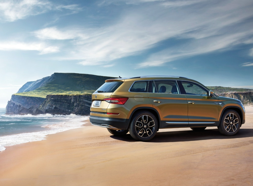 Skoda Kodiaq - great for towing.
