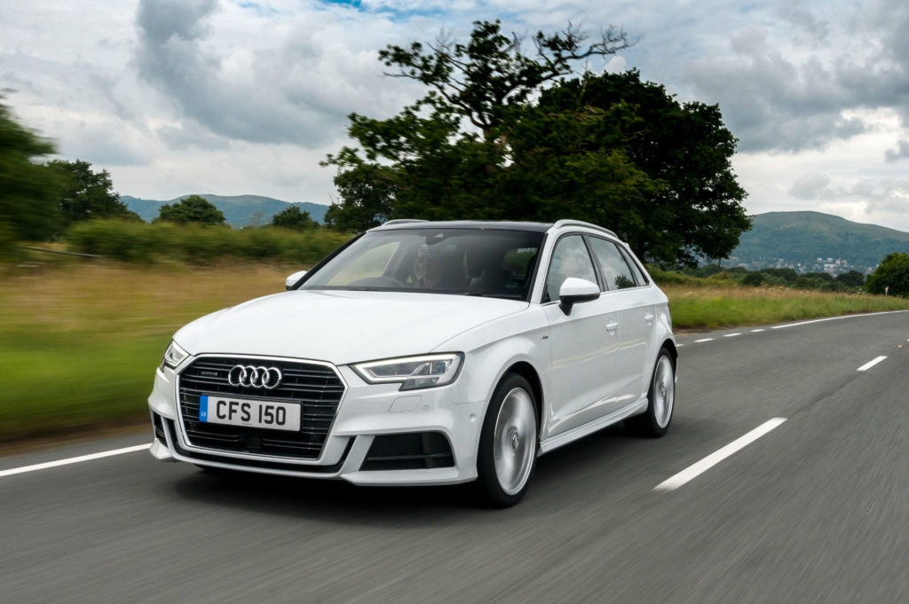 Audi A3 Sportback is a baby estate with tons of room.