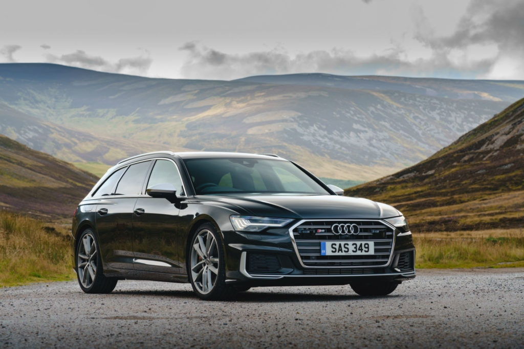 Audi A6 Avant, one of the biggest estates on the market.