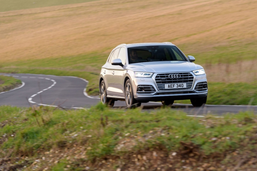 It may be pricey but you get great build quality in the Audi Q5.