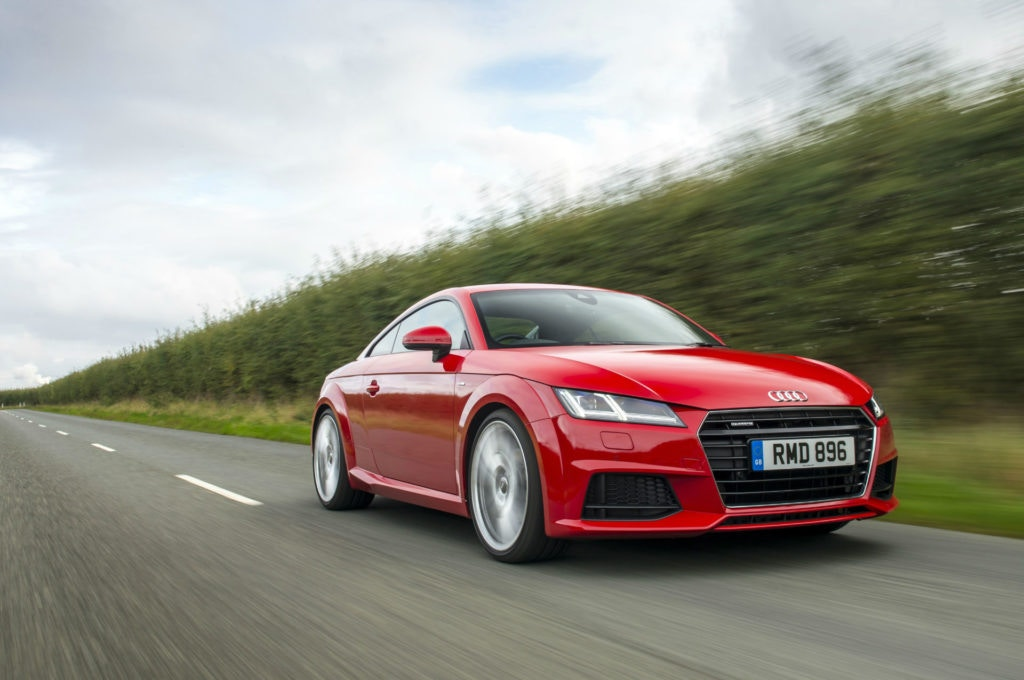 Who'd have though an Audi TT could be yours for less than £300 a month on PCP.