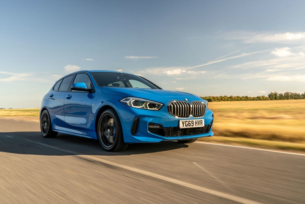 BMW 1 Series M Sport, a sporty looking hatch like no other.