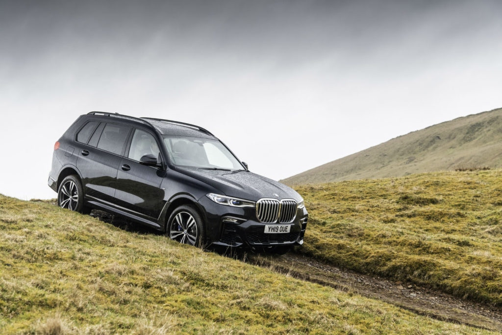 BMW's new X7 is their largest, most luxuriest 4x4 to date.