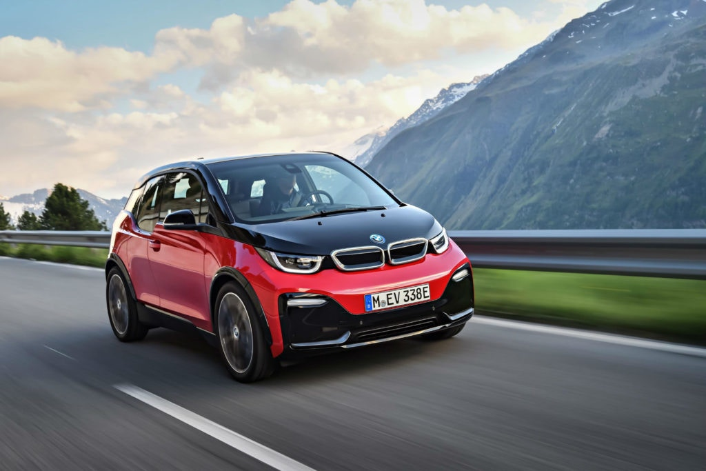 The BMW i3S is the sporty version of the i3.