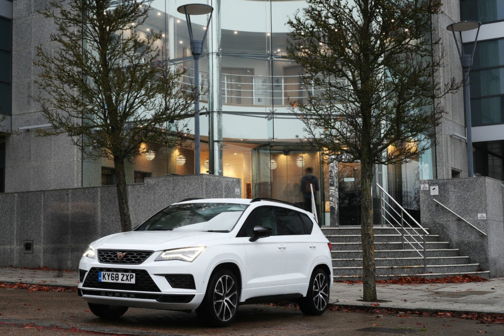 A rapid crossover, the Cupra Ateca, it's unlike anything else on sale.