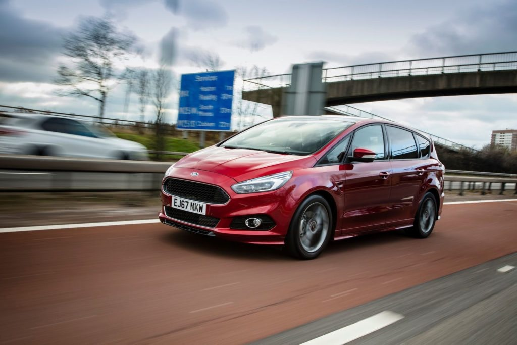 Ford S-Max offers 7 seats but more stylish lines than the Galaxy
