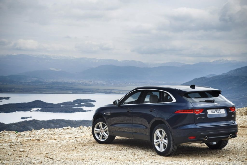 Pawfect for your dog, the Jaguar F-Pace handles superbly for an SUV.