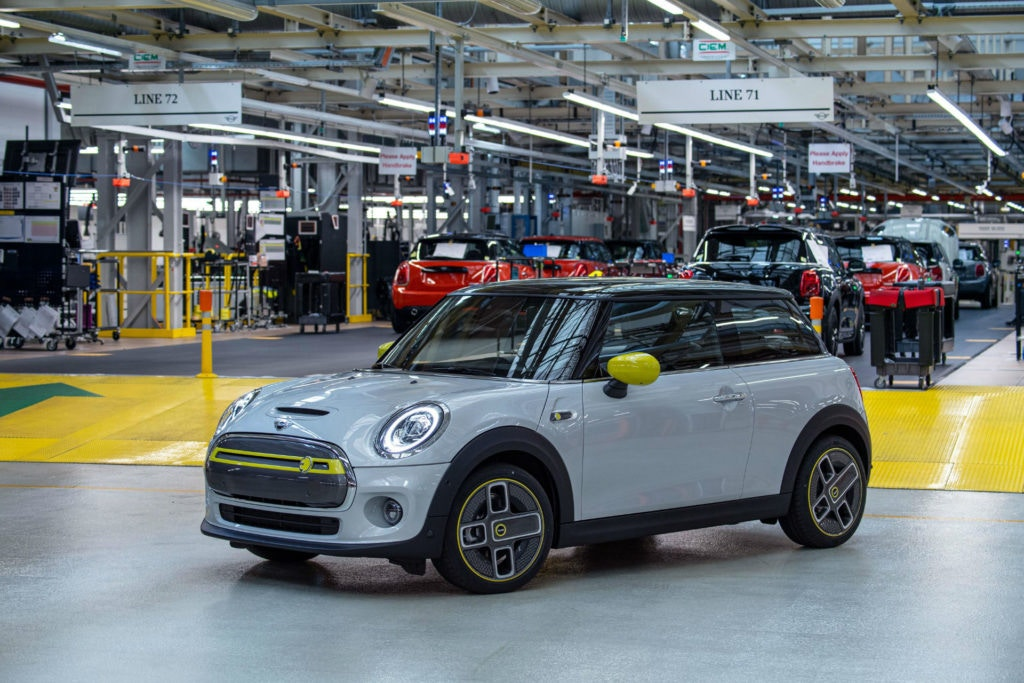 Built at the MINI plant in Oxford the new electric Mini has filled order books already.