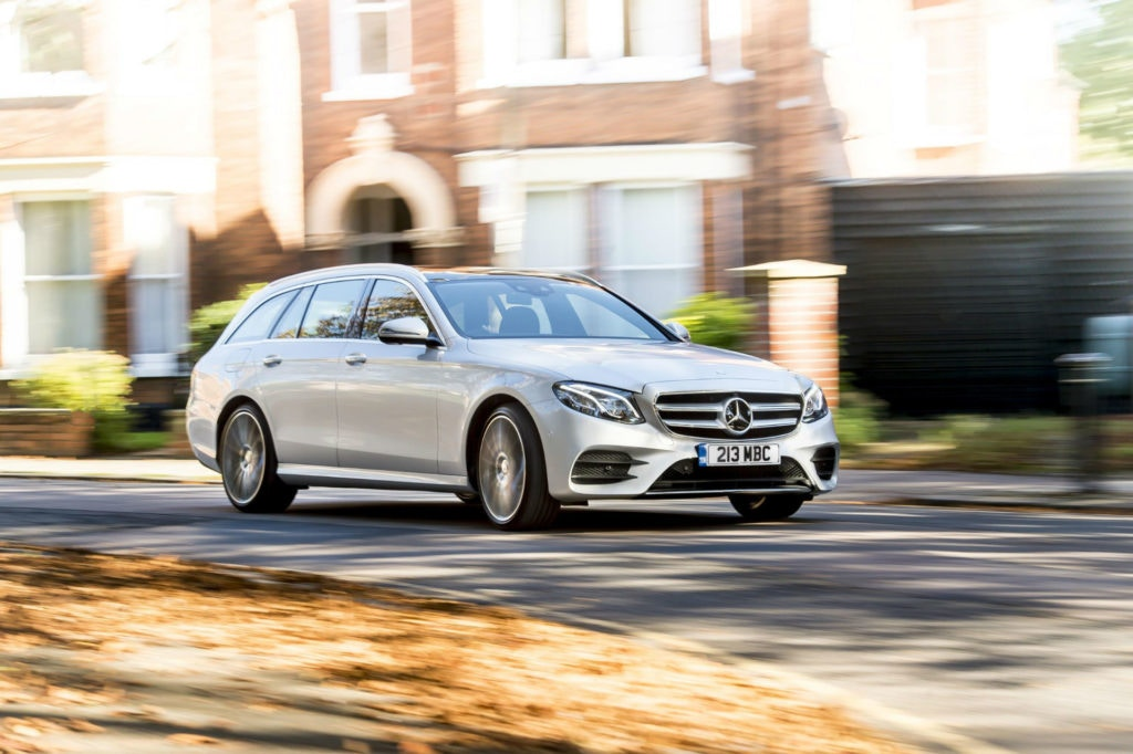 Mercedes E-Class estate gives you tons of space but at a premium.