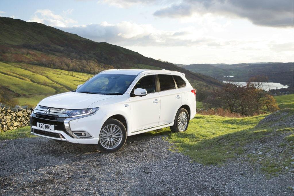 L'Outlander PHEV est toujours le plus gros vendeur d'hybrides au Royaume-Uni.