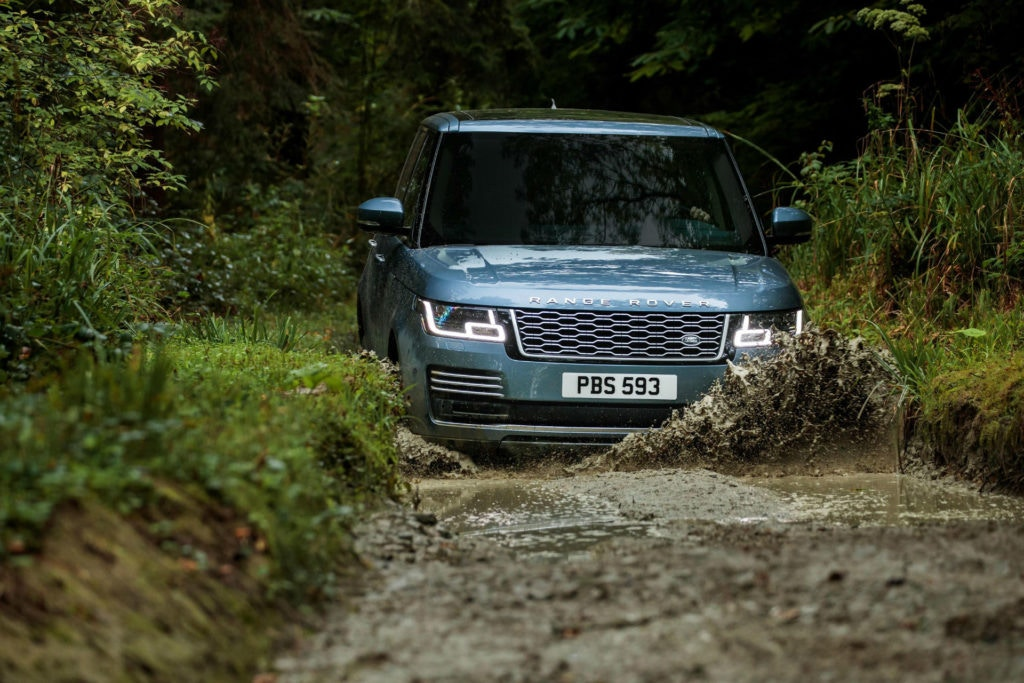 Range Rover - go anywhere ability has always been at the core of it's offering.