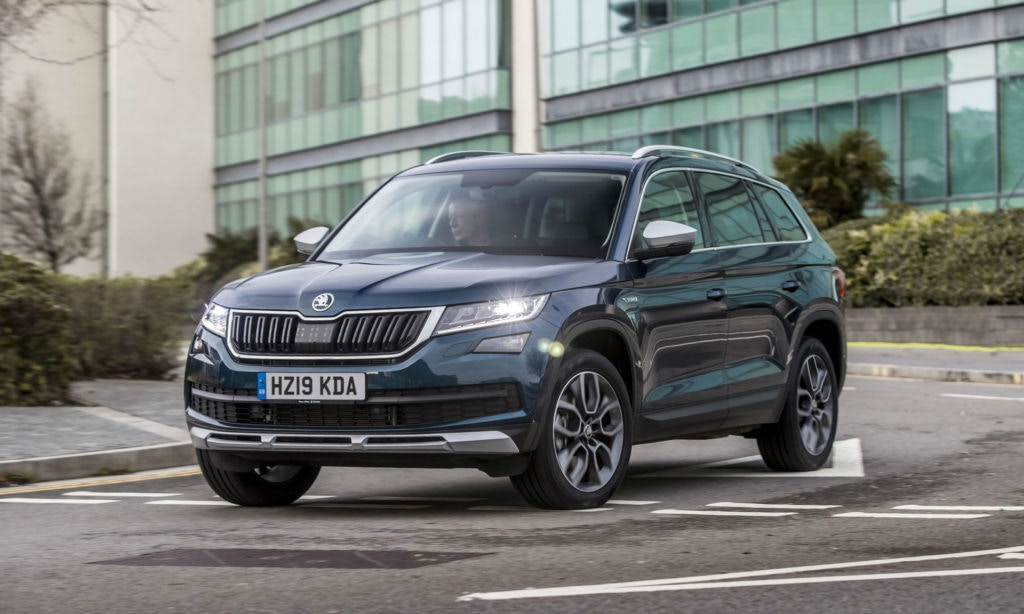 The Skoda is one of the cheapest 7 seater PCP car deals on the market