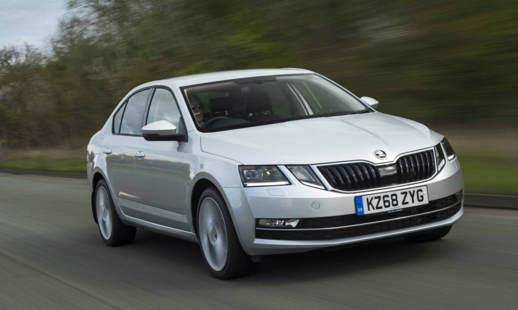 A large saloon with decent MPG, the Skoda Octavia is a winner.