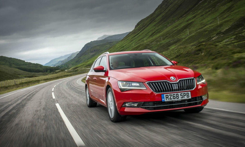 Want luxury on a budget? The Skoda Superb estate is hard to beat.