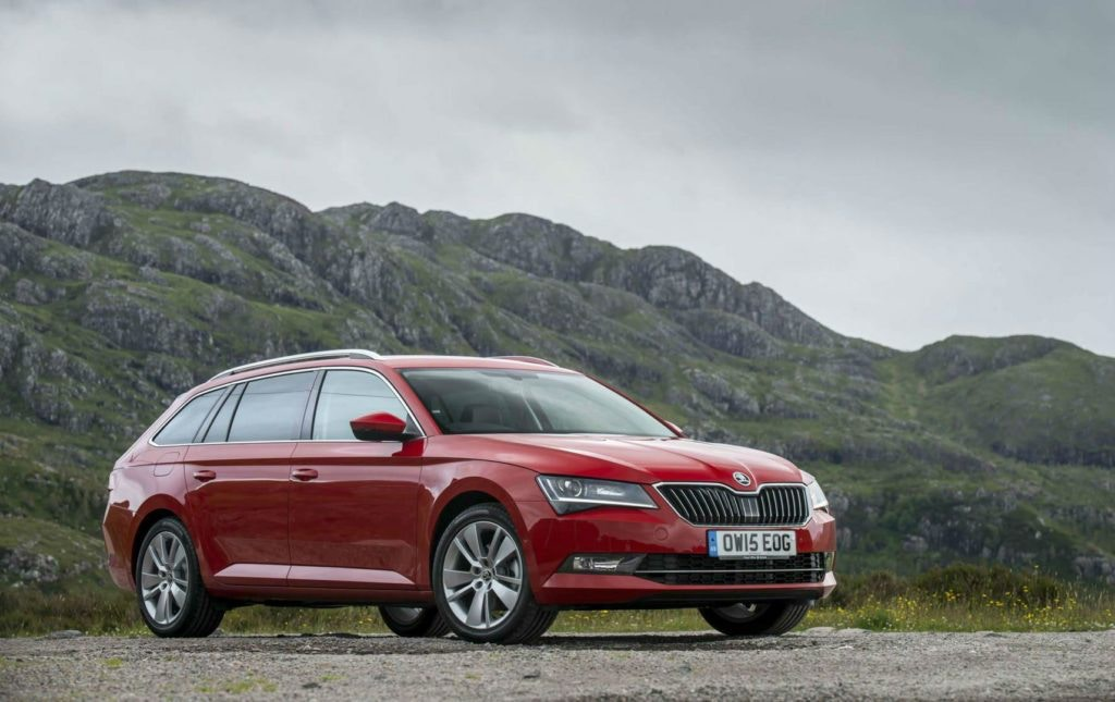 Bigger than the Octavia the Superb estate could be a winner for you and your dog.