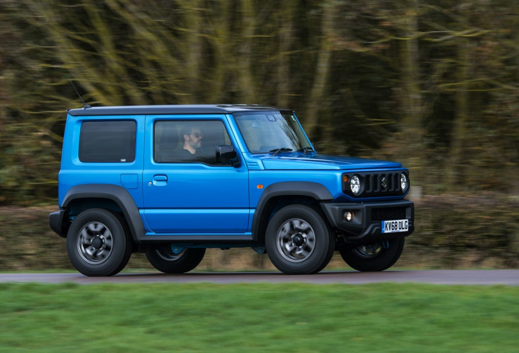 2019 Suzuki Jimny is like a mini Mercedes G Wagen, just affordable.