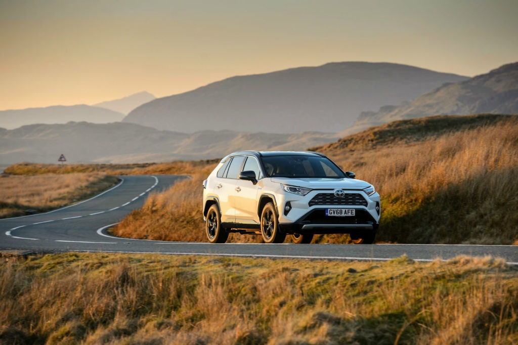 Toyota have updated the RAV4 to give it a full hybrid powertrain.