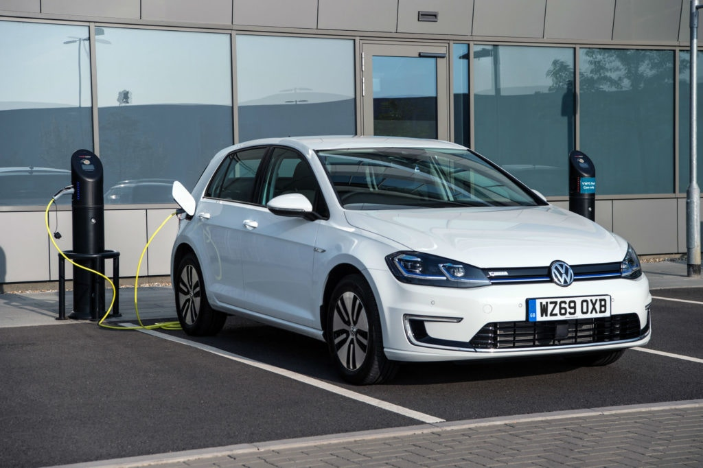 The Volkswagen e-golf might be small on range but it looks just like a Golf with no frills.