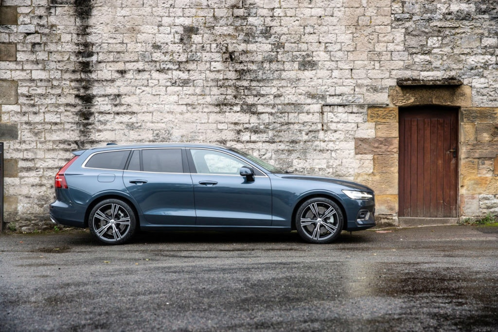 Volvo V60 Estate looks superb from every angle.
