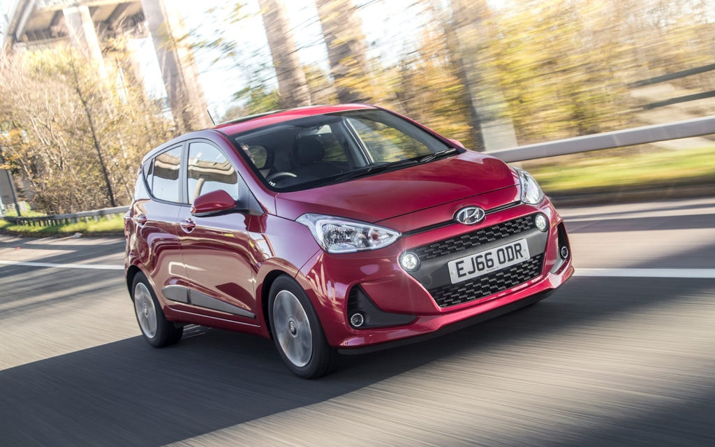 Hyundai i10 one of the few affordable automatic city cars