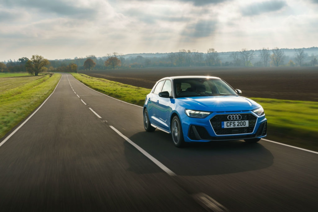 Audi A1 is the entry level into the world of Audi.