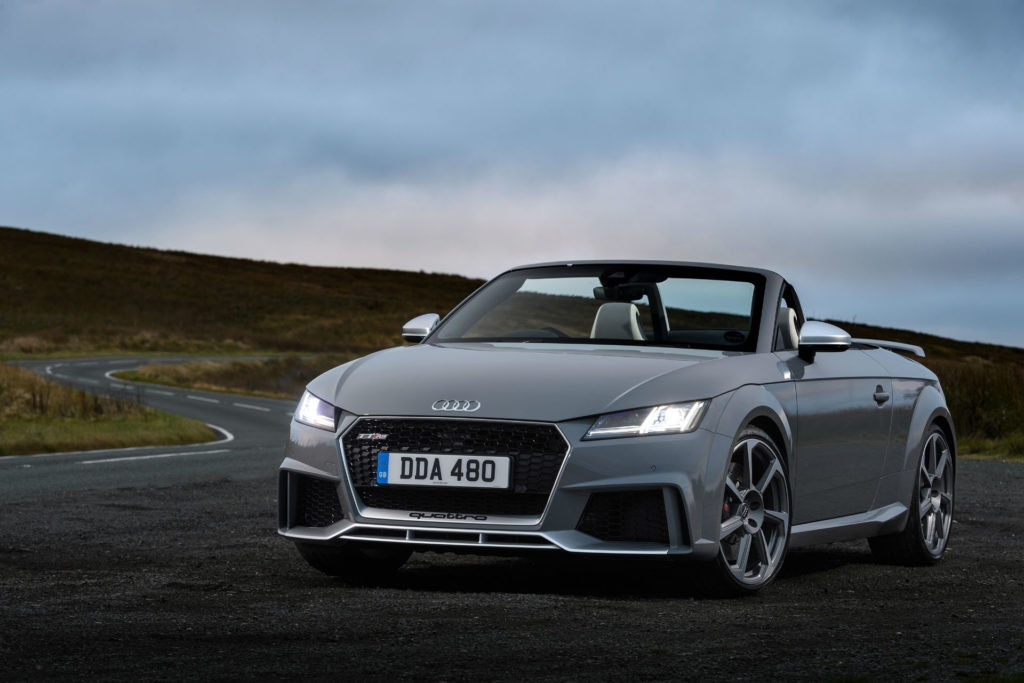 The Audi TT RS Roadster is a budget supercar killer.