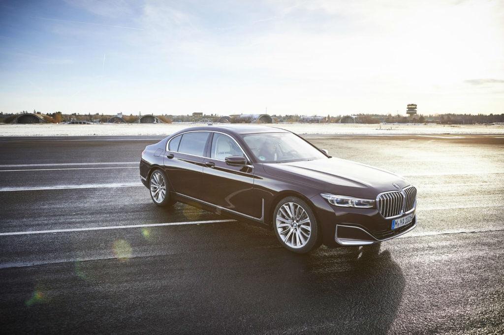 BMW Série 7, berline de luxe